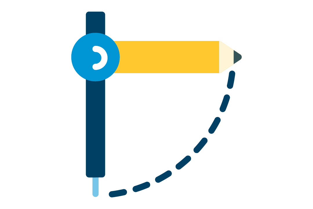 Learning space design icon