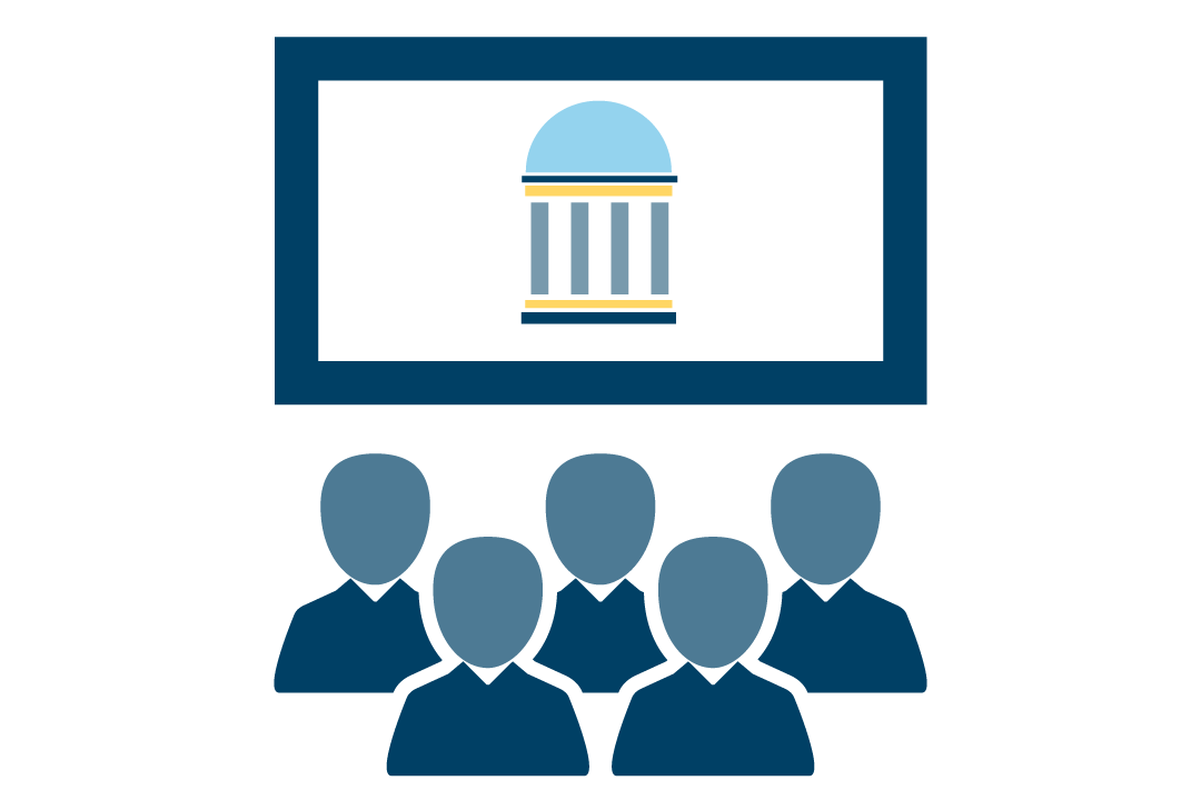 Classrooms and computer labs icon