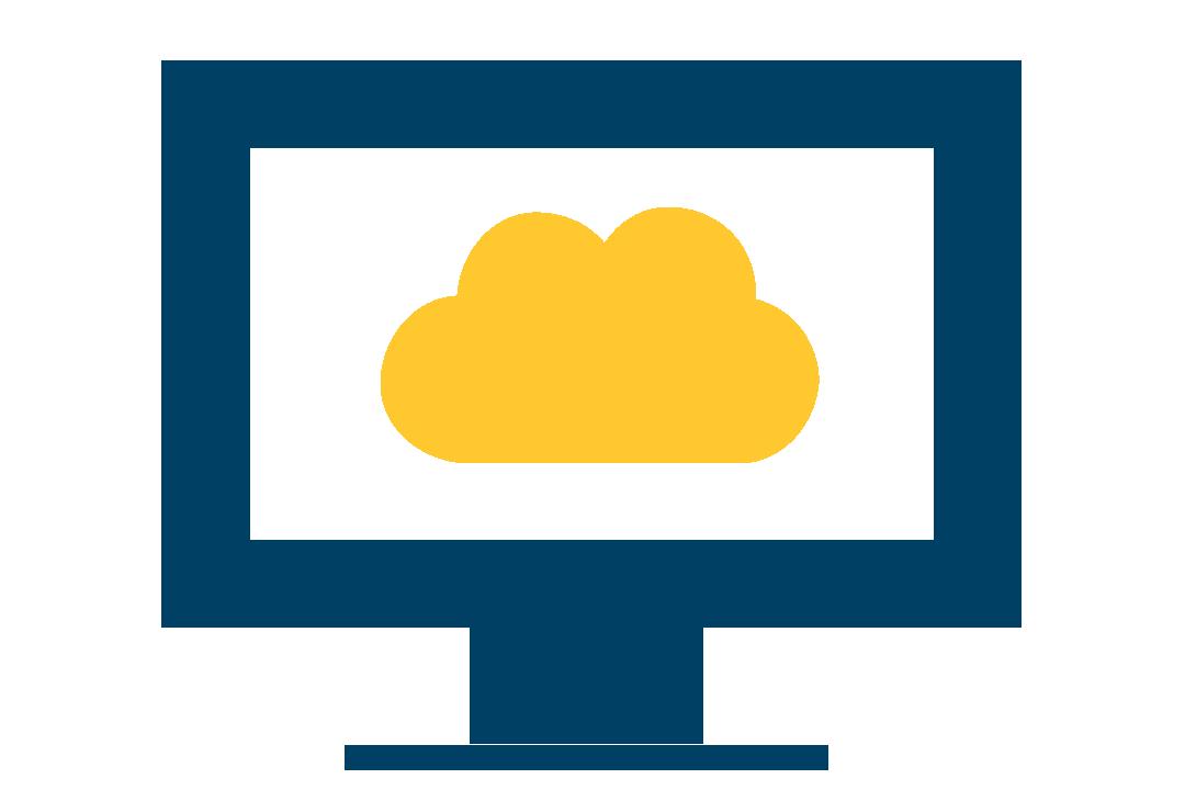 Virtual computer lab icon