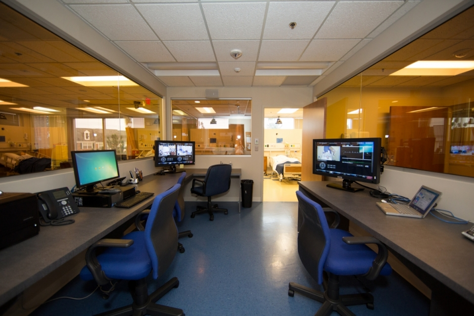 Nursing Classroom Design ~ Nursing skills and simulation lab academic technologies