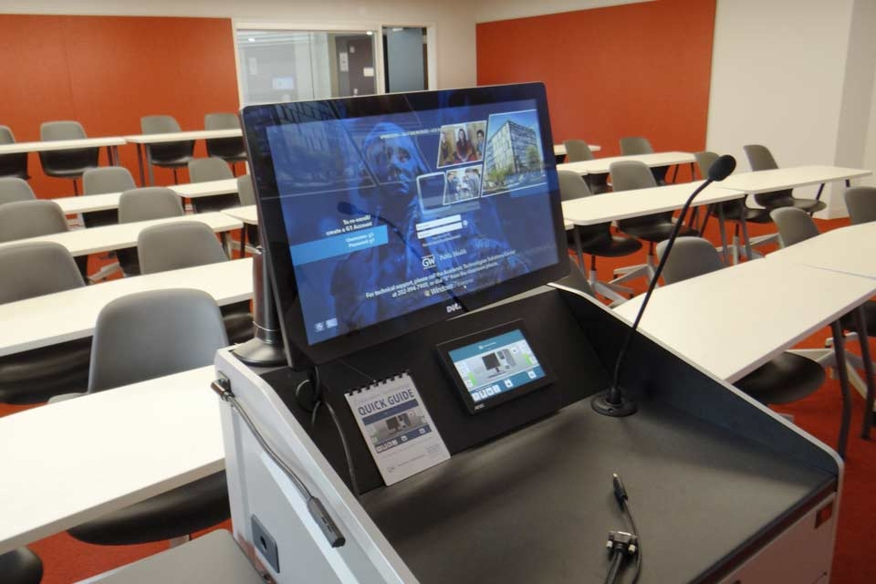 Lecture Classrooms | GWSPH