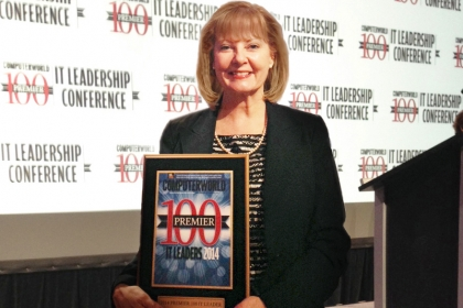 Image of P.B. Garrett at Premier 100 IT Leadership Conference