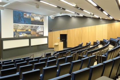 GWSPH Auditorium and classroom online