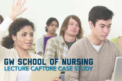 Lecture Capture Partnership with School of Nursing