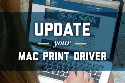 Update your Mac Print Driver