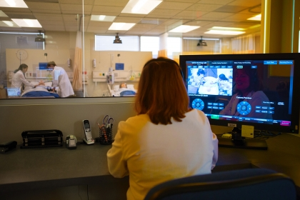 Innovation Nursing Lab | Control Room