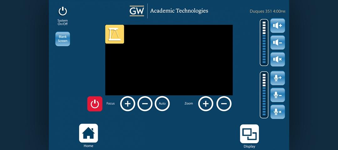 Interface Design - Document Camera Screen