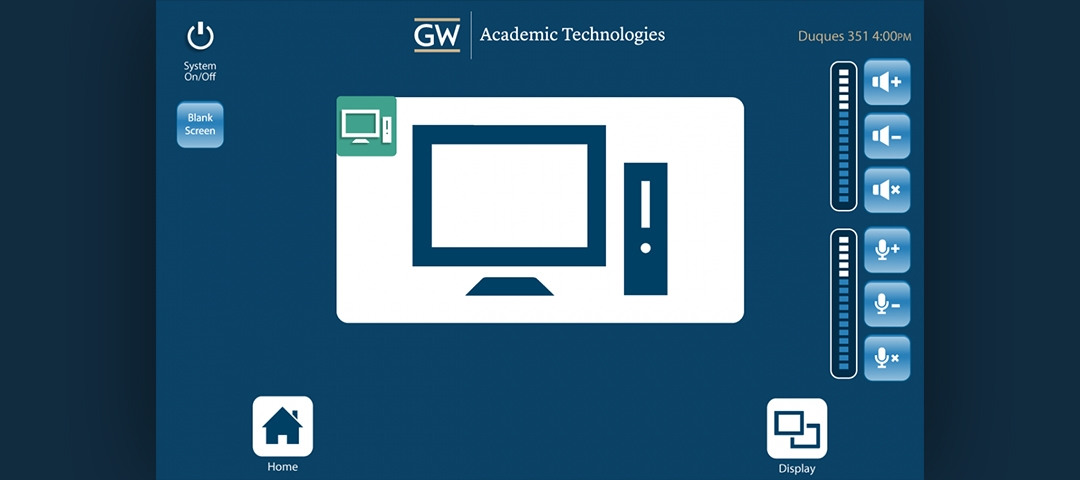 Interface Design - PC Screen