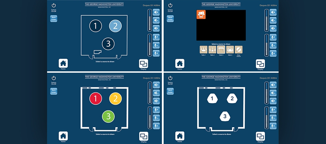 Collaborative Interface - Mock Ups