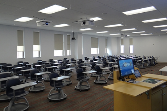 Classroom   Discovery Hall